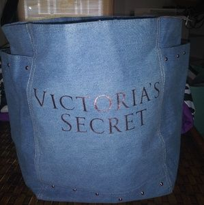 New VS Blue Jean Tote! With tags